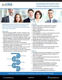 HR Datasheet Cover