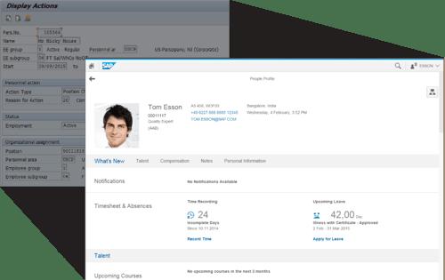 SAP Backend to Fiori Frontend Screenshots demo